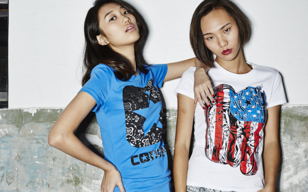 CONVERSE China Sport Wardrobe Styling Fashion Stylist Hair and Make Up Artist Street Style
