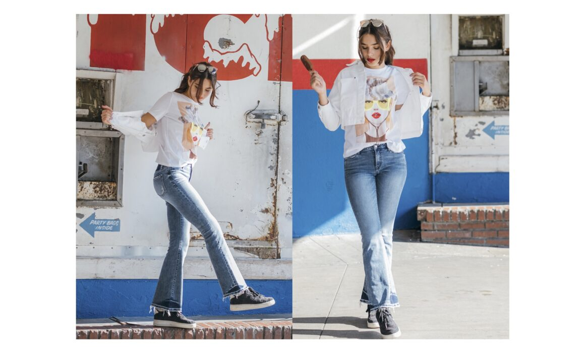 Los Angeles Stylist | VERVET Jeans Photo + Video Campaign