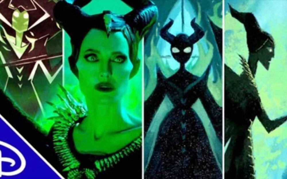 Disney Art 4 Ways- Maleficent | Branded Video Los Angeles Makeup Artist