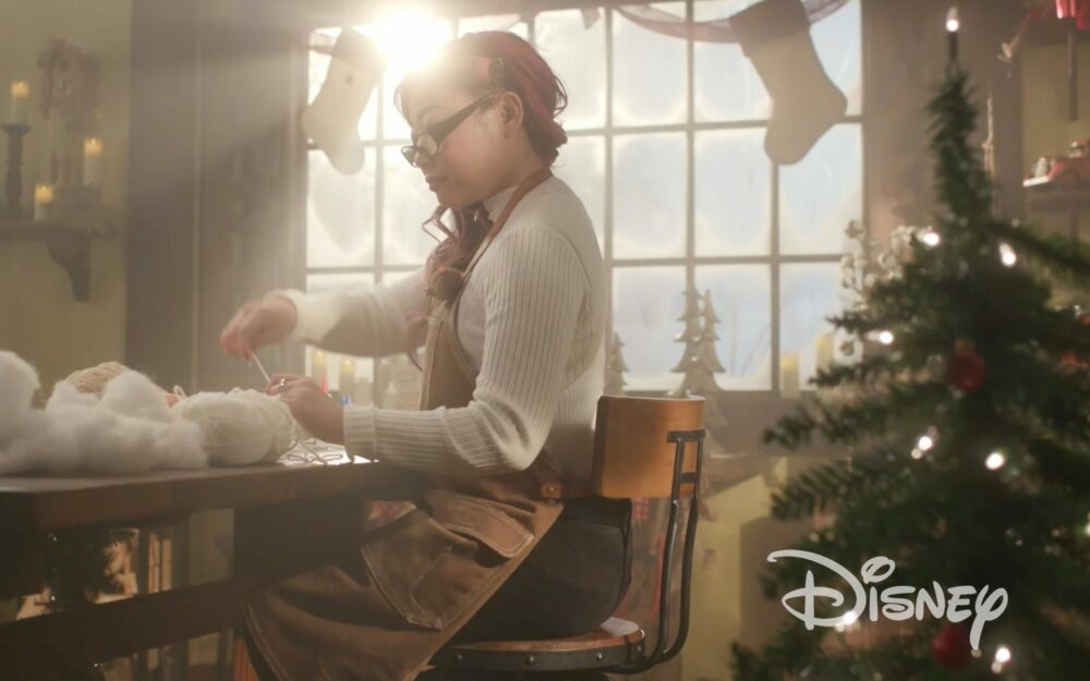 Disney+ Crochet Holiday Ornaments _ Disney Los Angeles California Hair and makeup artist HMUA
