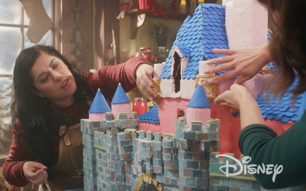 Disney Sleeping Beauty Castle Gingerbread House | Branded Video Los Angeles Hair and Makeup Artist