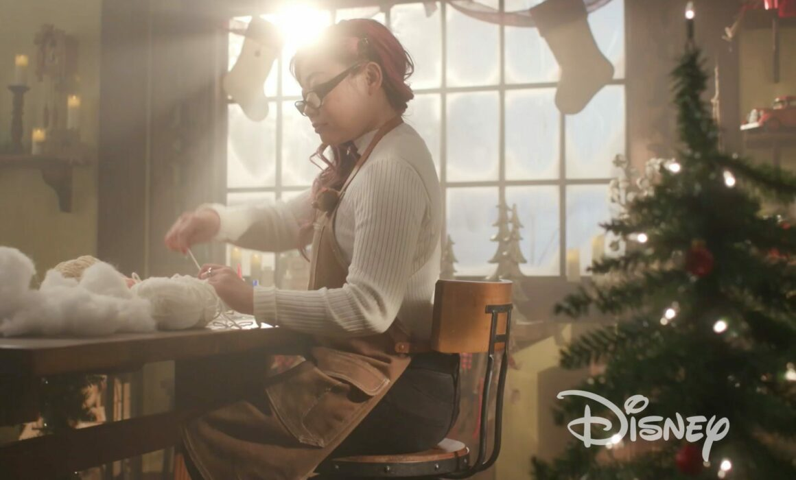 Freelance Makeup Artist | Disney Crochet Holiday Ornaments Promo Video