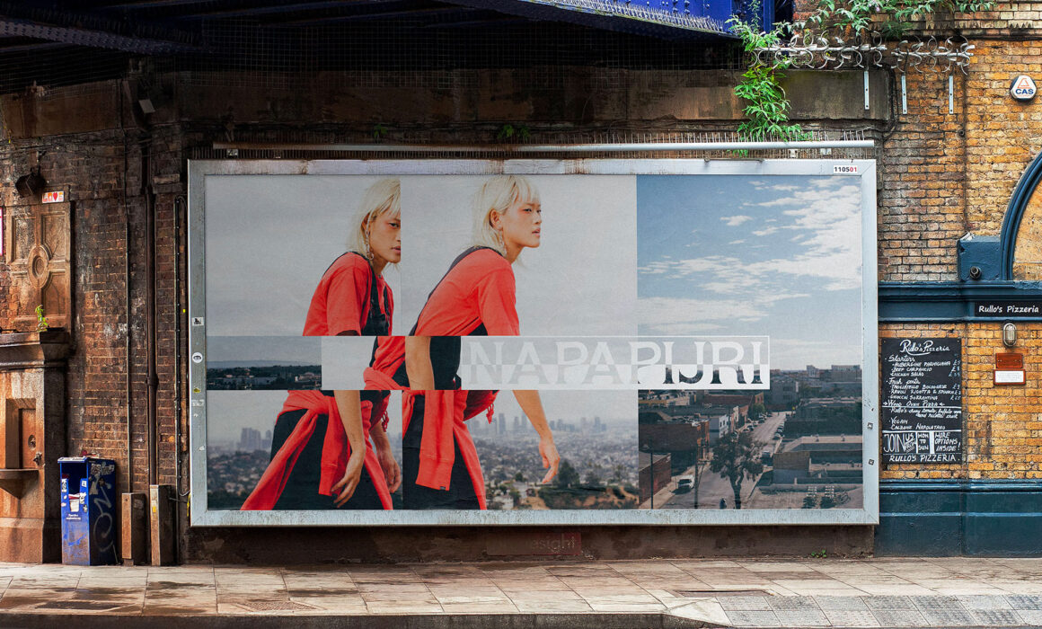 "Women's Sportswear Stylist in Los Angeles | Napapijri ""Future-Positive"" Billboard Campaign"