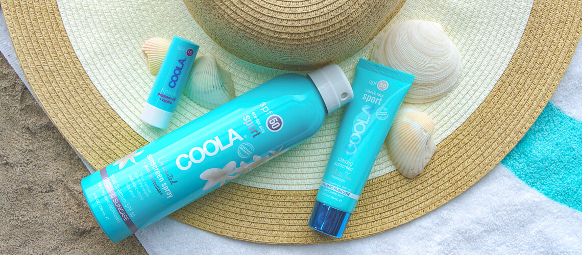 Los Angeles Makeup Artist | COOLA Suncare Collaboration